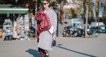 25 теплых трикотажных платьев для осени и зимы