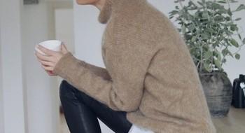 6 способов носить вязаный свитер