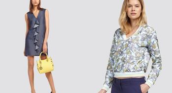 Новая женская коллекция Trussardi Jeans SS 2018