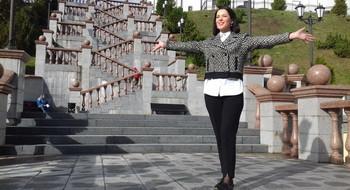 Путешествуем по Беларуси со звездой: Елена Дамиева