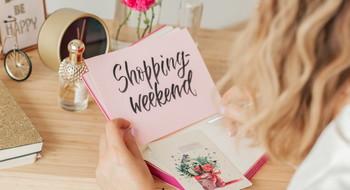 Shopping-weekend: 31 августа - 1 сентября